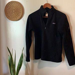 Patagonia black better sweater